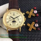 Réplicas Reloj Patek Philippe Working Chronograph Moonphase PPHS60