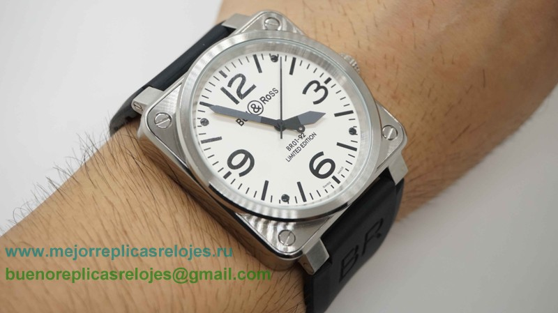 Replica Bell & Ross BR01-92 Limited Edition Automatico Reloj BRH16