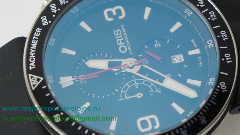 Relojes Replica Oris Working Chronograph OSH7